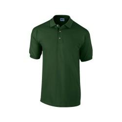 Ultra Cotton galléros piqué póló, zöld