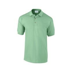 Ultra Cotton galléros piqué póló, zöld, S