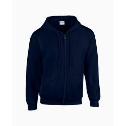 HB Zip Hooded pulóver, kék