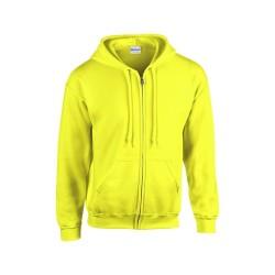 HB Zip Hooded pulóver, narancssárga