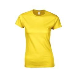 Softstyle Lady póló, sárga