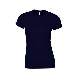 Softstyle Lady póló, kék