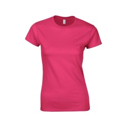 Softstyle Lady póló, pink