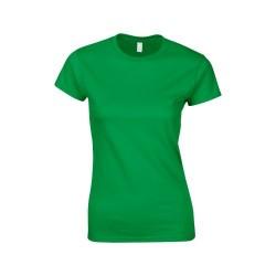 Softstyle Lady póló, zöld L