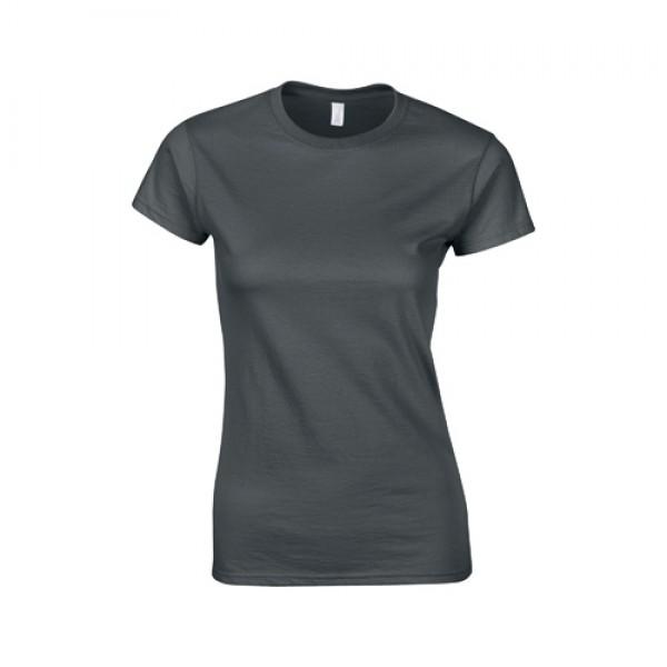 Softstyle Lady póló, szürke