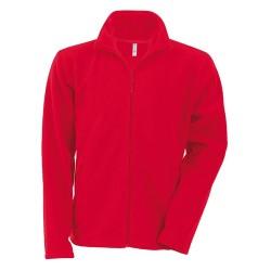 Falco polár pulóver, piros