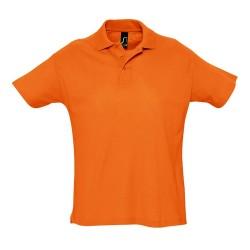 Summer II galléros piqué póló, narancssárga