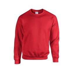 HB Crewneck pulóver, piros
