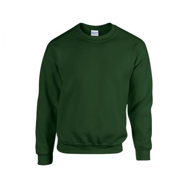 HB Crewneck pulóver, zöld