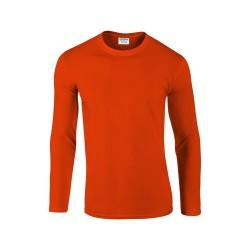 Softstyle Long Sleeve hosszú ujjú póló, narancssárga