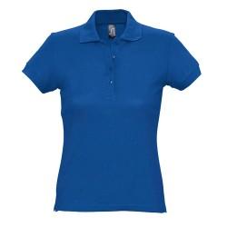 Passion galléros női póló, kék