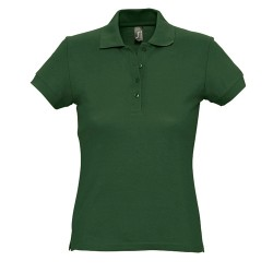 Passion galléros női póló, zöld