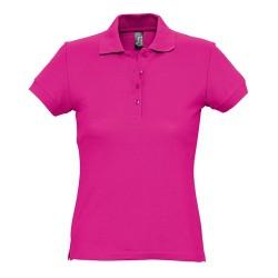 Passion galléros női póló, pink