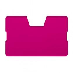CreaCard kártyatartó, átlátszó, pink
