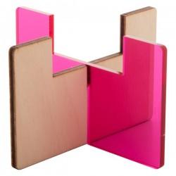 Candix mécsestartó , pink-T