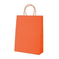 Mall papírtáska, narancssárga