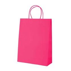 Store papírtáska, pink