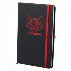 Kefron jegyzetfüzet , piros