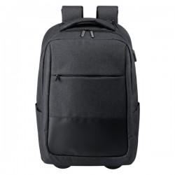 Haltrix gurulós hátizsák , fekete
