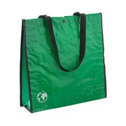 Recycle bevásárlószatyor, zöld