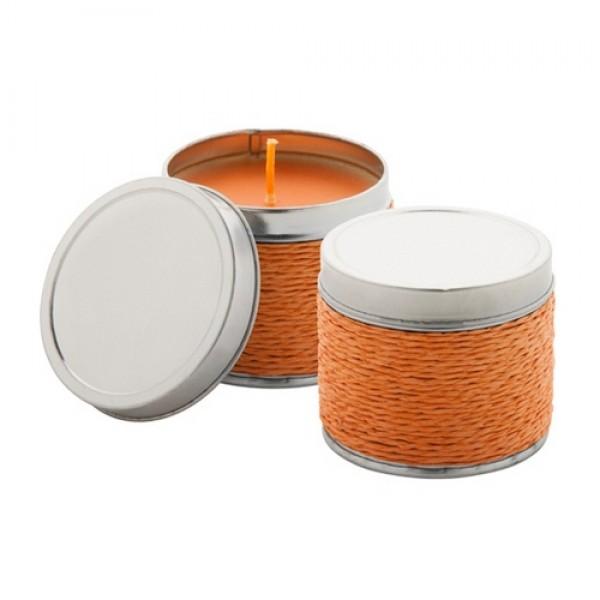 Shiva illatos gyertya, narancs, narancssárga