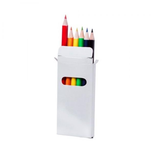 Garten 6 db-os színesceruza készlet, natúr
