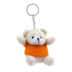 Teddy kulcstartó, narancssárga