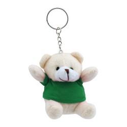 Teddy kulcstartó, zöld