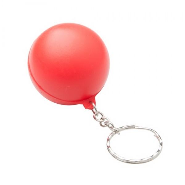 Calm antistressz kulcstartó, piros