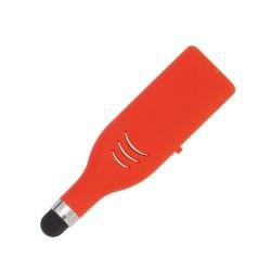 Stylus 4GB USB memória érintőképernyős funkcióval, piros