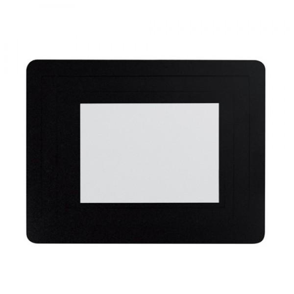 Pictium fényképtartós egérpad, fekete