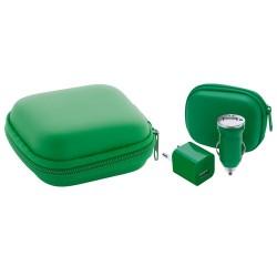 Canox USB töltő szett, zöld