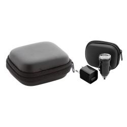 Canox USB töltő szett, fekete