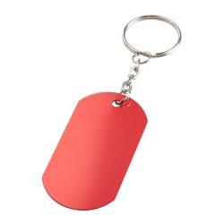 Nevek kulcstartó, piros