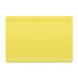 Kazak bankkártya tartó, sárga