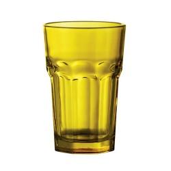 Kisla üdítős pohár, sárga