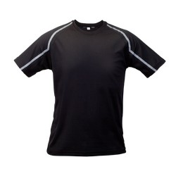 Fleser póló, fekete