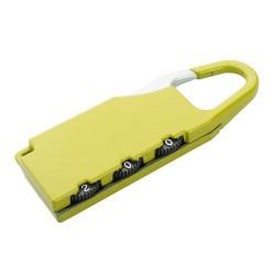 Zanex bőrönd zár, sárga