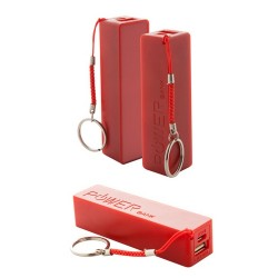 Kanlep USB power bank, piros