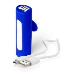 Khatim USB power bank, kék