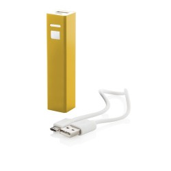 Thazer USB power bank, sárga