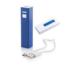 Thazer USB power bank, kék