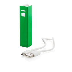 Thazer USB power bank, zöld