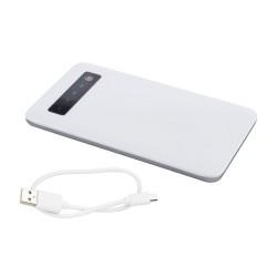 Osnel USB power bank, fehér
