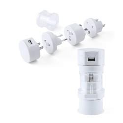 Tribox utazó adapter, fehér