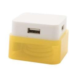 Dix USB elosztó, sárga