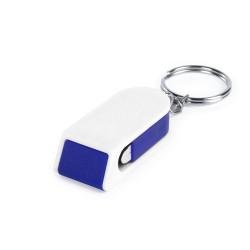 Satari mobiltelefon tartó kulcstartó, kék