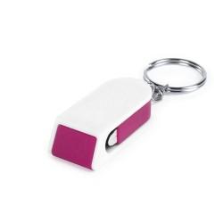 Satari mobiltelefon tartó kulcstartó, pink