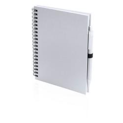 Koguel jegyzetfüzet, fehér