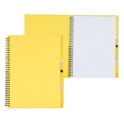 Tecnar jegyzetfüzet, sárga